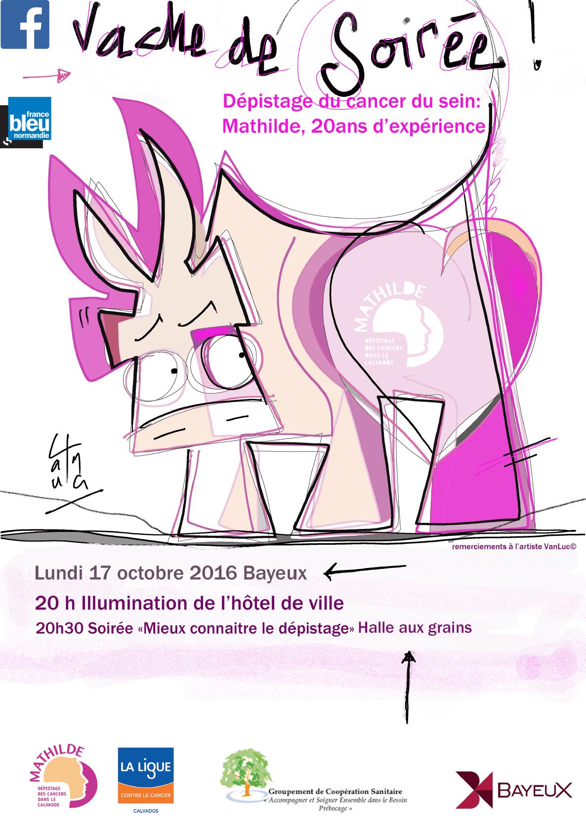 17/10/2016 : SOIREE A BAYEUX POUR LES 20 ANS DE MATHILDE !!!